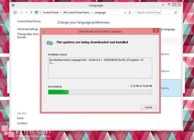 Cara Mengganti Bahasa Windows 8.X dengan Mudah