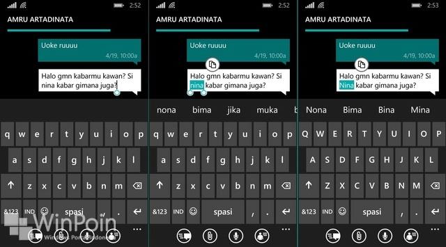 Tips Mudah Mengubah Huruf Depan Kata Dengan Huruf Kapital di Windows Phone 8.1