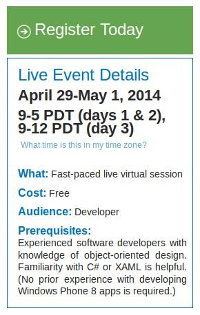Ayo Gabung dan Belajar Membuat Aplikasi Windows Phone 8.1 dan Universal Apps