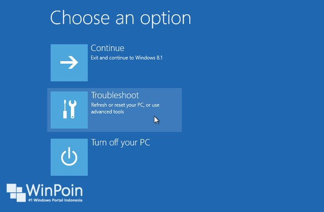 Cara Memperbaiki Windows 8.1 yang Gagal Booting