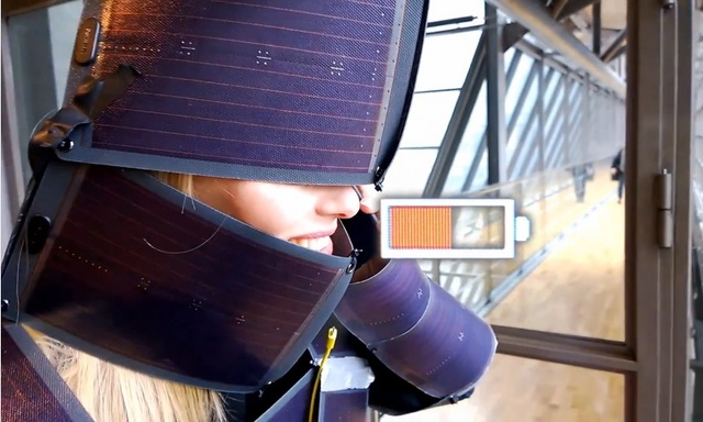 #SustainableLumia: Baju Solar Cell untuk Charging