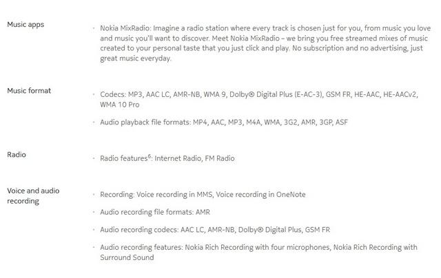 Nokia Lumia 930, Smartphone Pertama yang Menggunakan Dolby Digital Plus