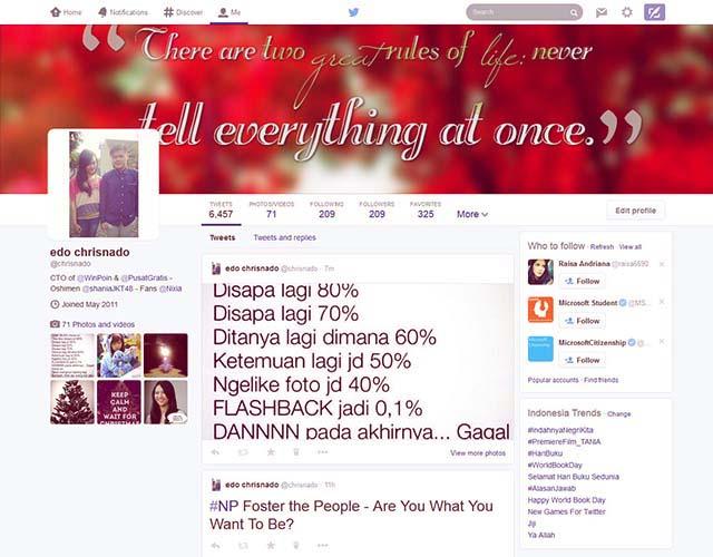 Lihat Profile Twitter Kamu, Ada Perombakan Desain Nih..