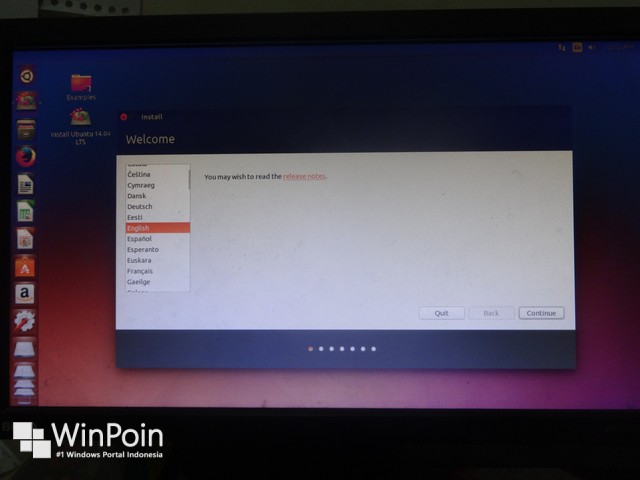 Cara Dual Boot Windows 8.1 Update dengan Ubuntu 14.04 LTS