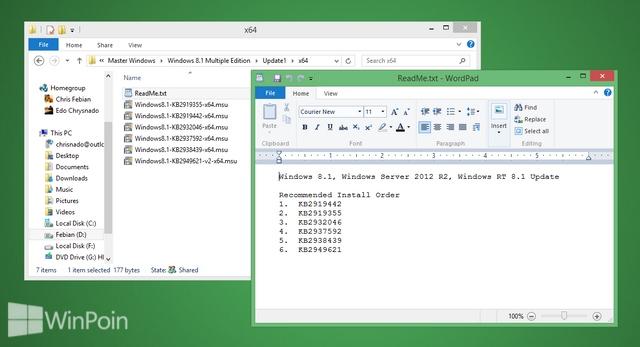 Yeah..Windows 8.1 Update Sudah Dirilis di MSDN!