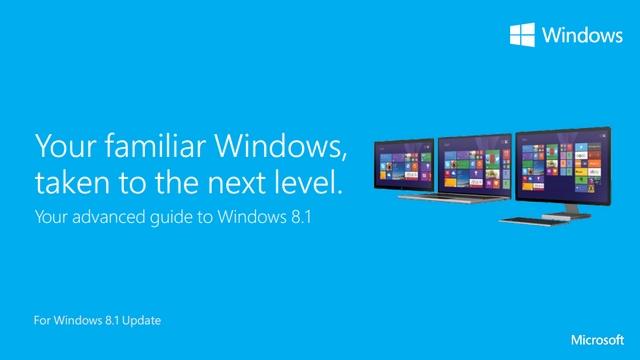 Download Windows 8.1 Update Power User Guide