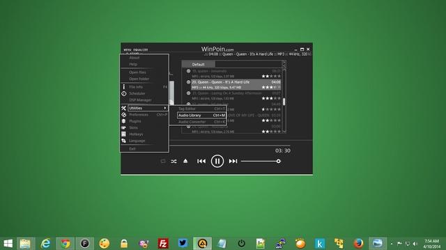 Hot: Download Skin AIMP3 Bergaya Metro khas Modern UI (Versi 2)