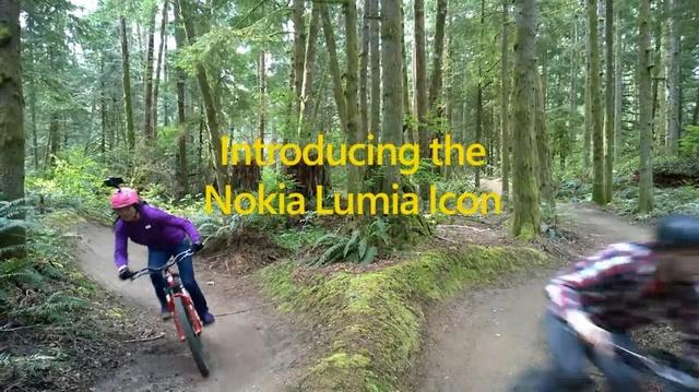 Dua Orang Biker Gunung Tunjukan Kemampuan Merekam Video Lumia Icon