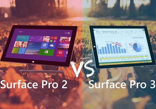 Surface Pro 3 vs Surface Pro 2 vs Surface 2, Manakah yang Lebih Hebat?