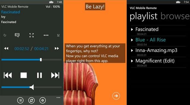 VLC Mobile Remote: Kontrol VLC Media Player di Komputer Kamu dengan Windows Phone