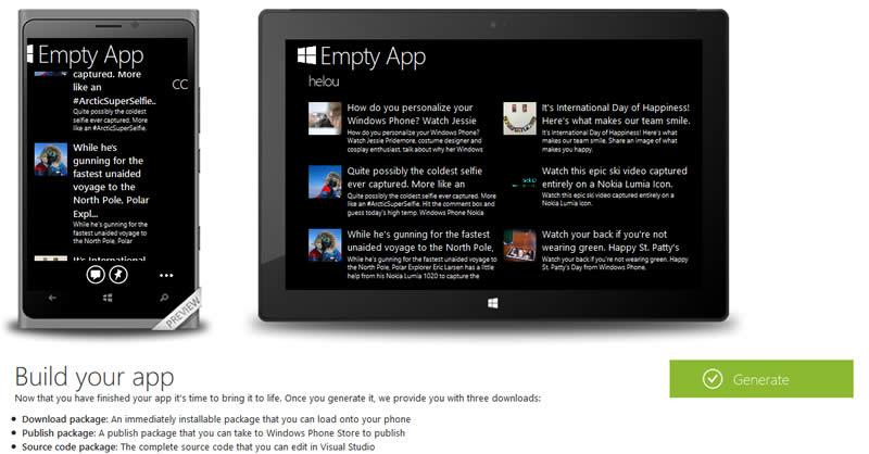 Wow...Pengguna Windows App Studio Sudah Mencapai 1 Juta User