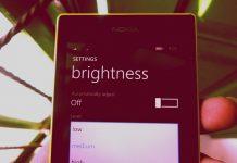 Setelah Update Lumia Cyan Kamu Bisa Mengatur Brightness dengan Slider