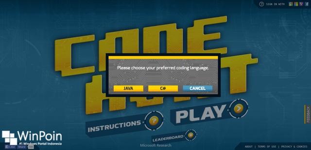 Code Hunt: Game Buatan Microsoft Research untuk Belajar Coding