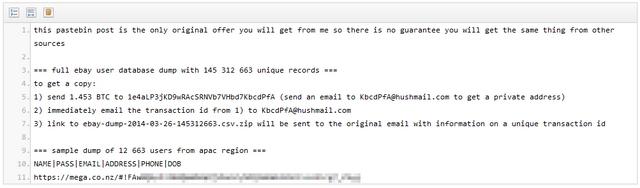 Pengguna eBay..Ganti Password Kamu Sekarang!