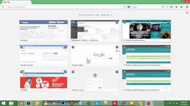 Sebentar Lagi Bakal Ada Iklan di New Tab Browser Firefox