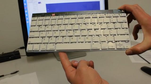 Microsoft Research Membuat Keyboard Dengan Dua Kontrol