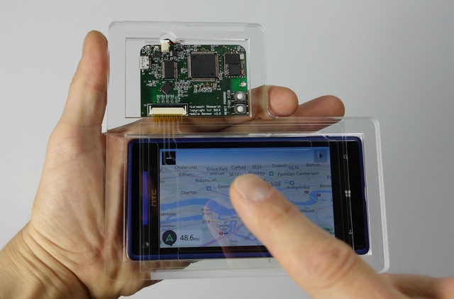 Microsoft Research Membuat Sensor 3D Murah Untuk Mobile