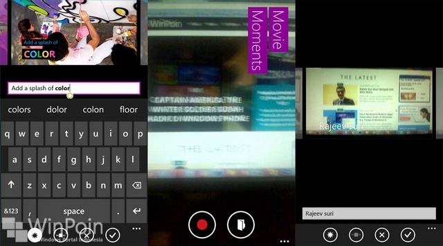 Movie Moments, Aplikasi Video Editing dari Microsoft untuk Windows Phone 8.1