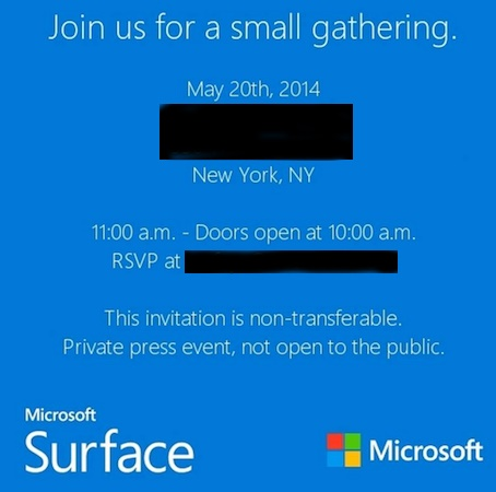 "Microsoft Mengundang Media Untuk Membicarakan ""Surface Mini"""