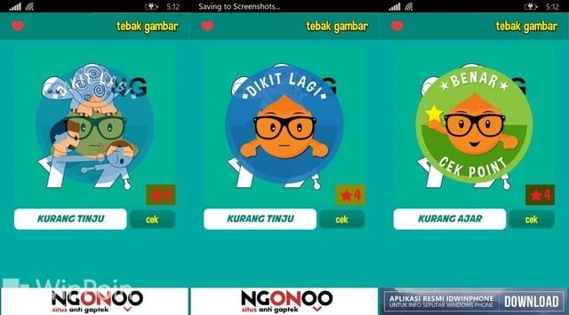 Tebak Gambar: Aplikasi Game Terpopuler Buatan Anak Bangsa