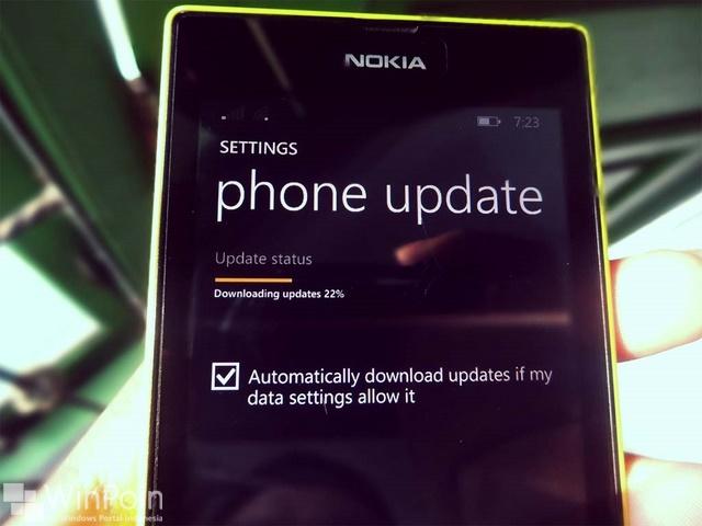 Windows Phone 8.1 Developer Preview Mendapatkan Update Pertama