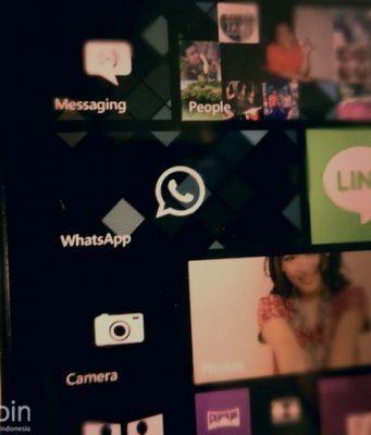 Microsoft Masih Memperbaiki Notifikasi WhatsApp di Windows Phone 8