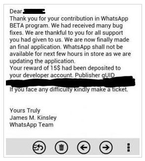 Inilah Alasan Kenapa WhatsApp Menghilang dari Windows Phone Store