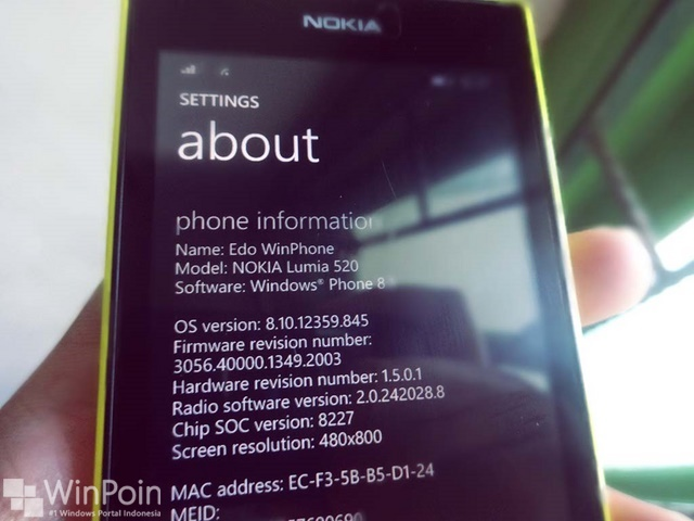 Microsoft Akan Mulai Support Windows Phone 8.1 Pada Bulan Juni