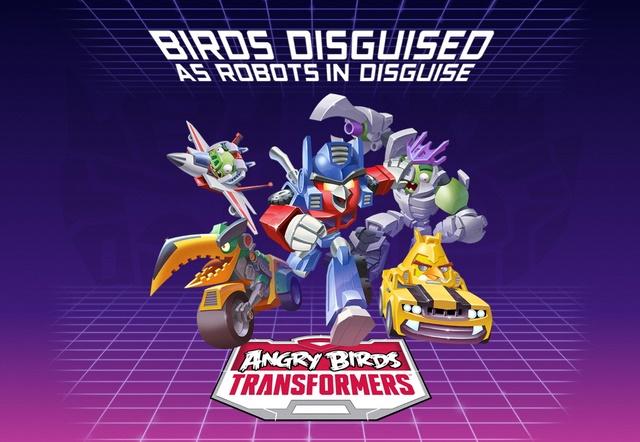 Angry Birds Transformers Game Terbaru dari Rovio