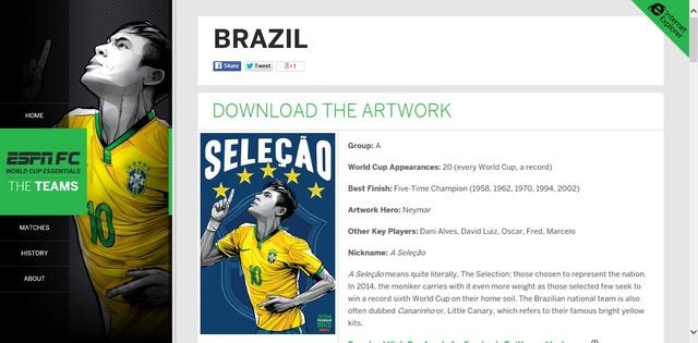 Tim IE dan ESPN Bekerja Sama Untuk Membuat Web Piala Dunia 2014