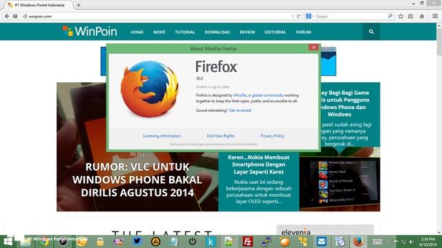 Ayo Update, Mozilla Firefox 30 Final Sudah Dirilis!