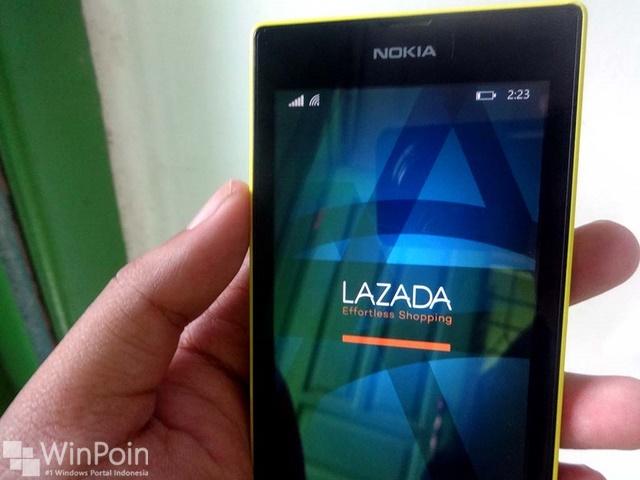 Belanja di Lazada Jadi Lebih Mudah Menggunakan Windows Phone