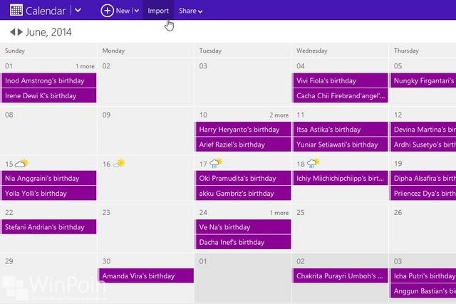 Menambahkan Jadwal Piala Dunia 2014 di Windows Phone dan Windows