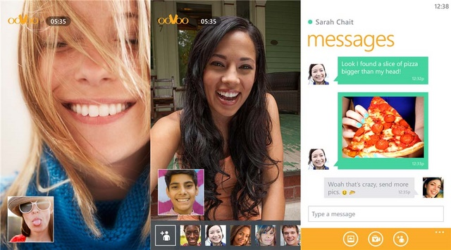 ooVoo: Aplikasi Sosial Video Chat Hadir di Windows Phone