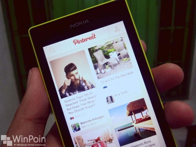 Aplikasi Pinterest Sekarang Resmi Hadir di Windows Phone