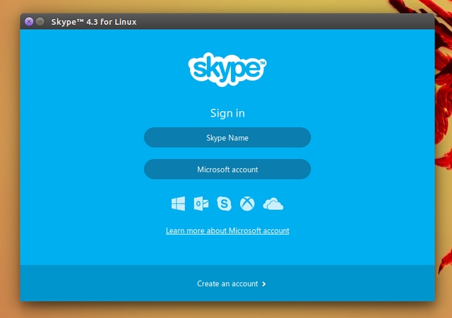 Skype 4.3 untuk Linux Dirilis, Inilah Tampilan Barunya