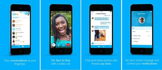 Skype 5.1 untuk iPhone Dirilis, Inilah Fitur Barunya