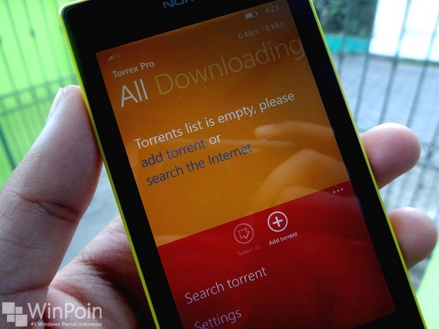 Torrex Pro: Aplikasi Download Torrent Windows Phone dan Windows (Kesempatan Terbatas)