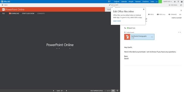 Ada Fitur Baru di Outlook Web Apps: Document Collaboration. Apa Itu?