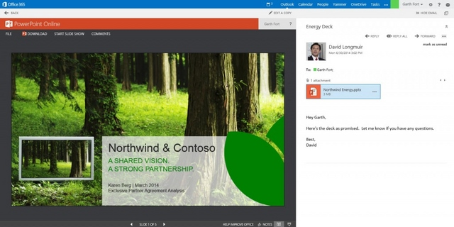 Ada Fitur Baru di Outlook Web Apps: Document Collaboration. Apa Itu?