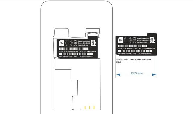 RM-1018: Ponsel Baru dari Microsoft, Apakah Ini device Windows Phone?