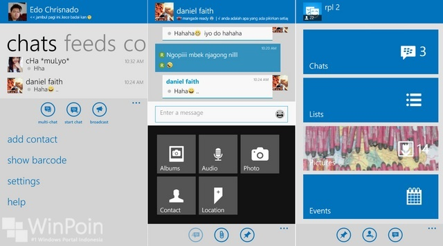 Review Aplikasi BBM untuk Windows Phone