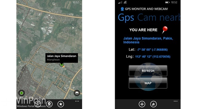 Review Aplikasi GPS Monitor & Webcam