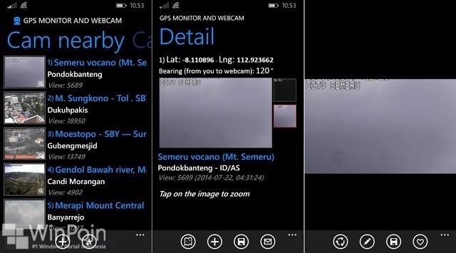 Review Aplikasi GPS Monitor & Webcam