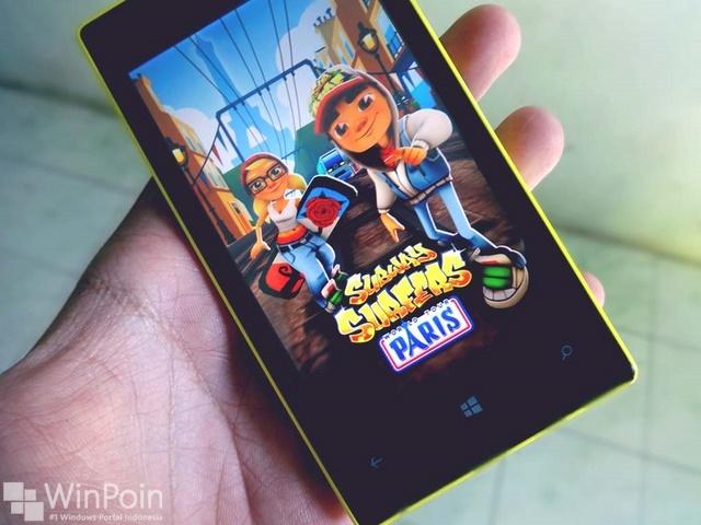 Download Subway Surfers Paris untuk Lumia 520 Sekarang Juga!!