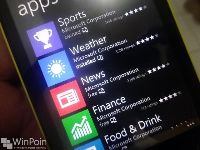 Saatnya Update Semua Aplikasi Bing Suite untuk Windows Phone