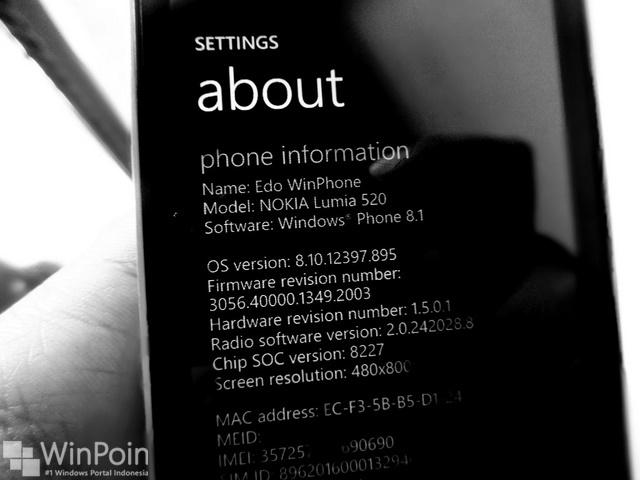 Hore...Windows Phone 8.1 Sekarang Sudah Tahap Testing