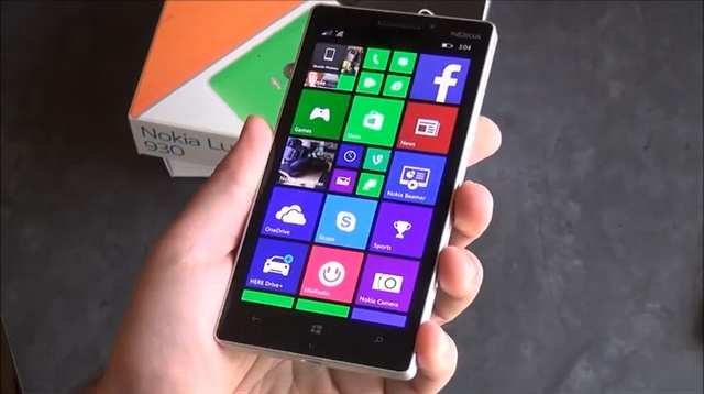 Hands-on Nokia Lumia 930, Windows Phone 8.1 Pertama versi High-end