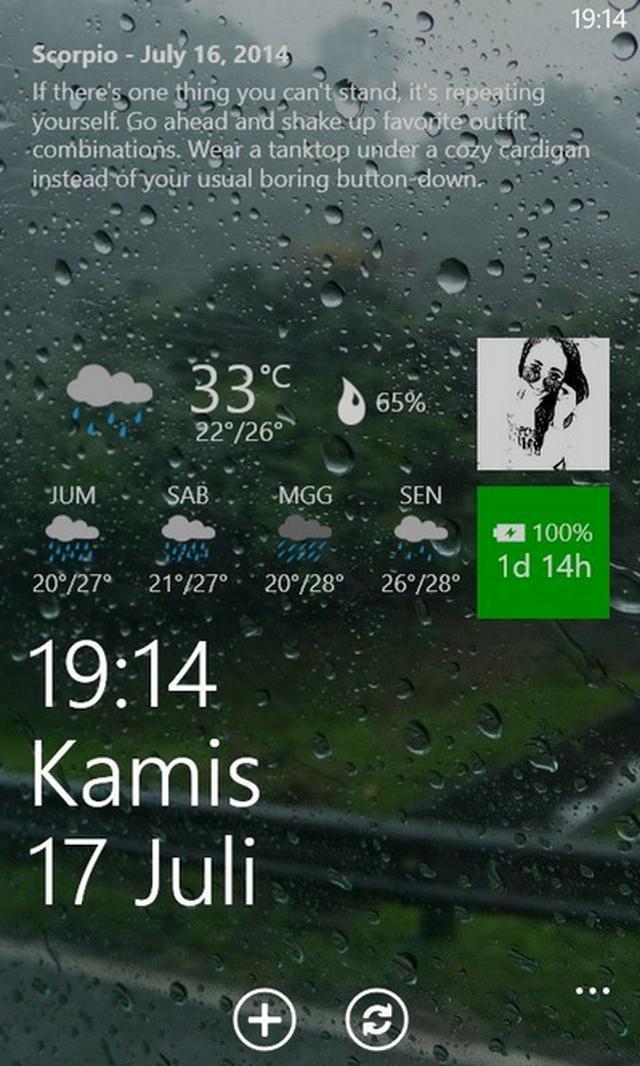 Lockmix: Aplikasi Lockscreen Windows Phone Keren yang Sebaiknya Kamu Coba
