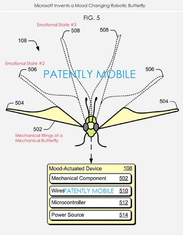 Microsoft Punya Robot Kupu-kupu yang Bereaksi Sesuai Emosi Manusia